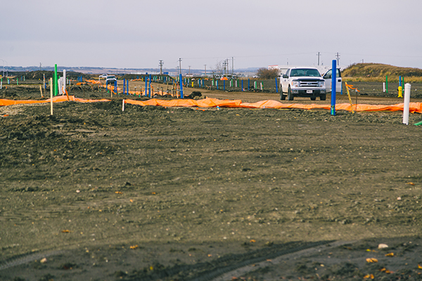Grande Prairie land survey company